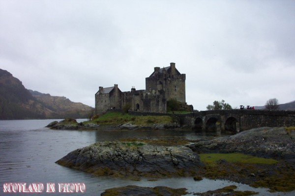 Eilean Donan Castle on Loch Duich in the Highlands