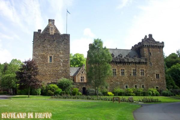Dean Castle in Kilmarnock Ayrshire