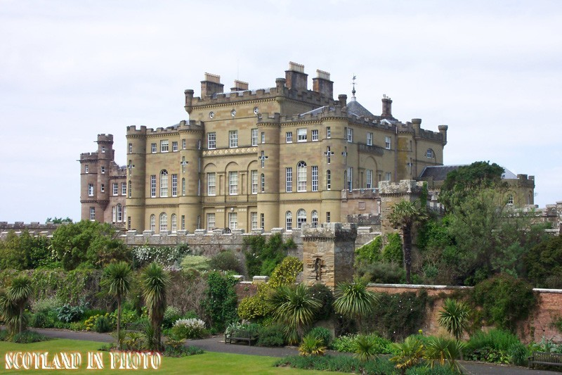 Culzean Castle on the coast of Ayrhire