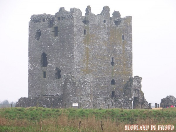 Threave Castle on a lonely isle