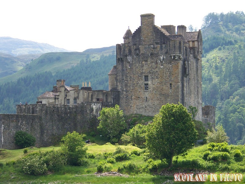 Eilean Donan Castle on Loch Duich in the Highlands