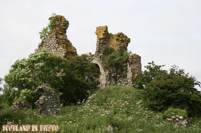 Craigie Castle outside Kilmarnock in Ayrshire