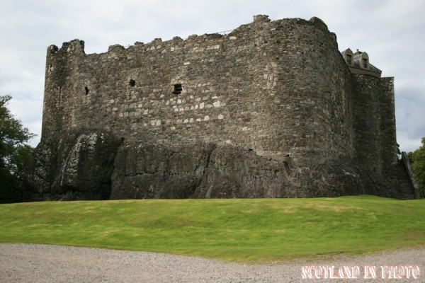 Dunstaffnage Castle on the Argyll coast.