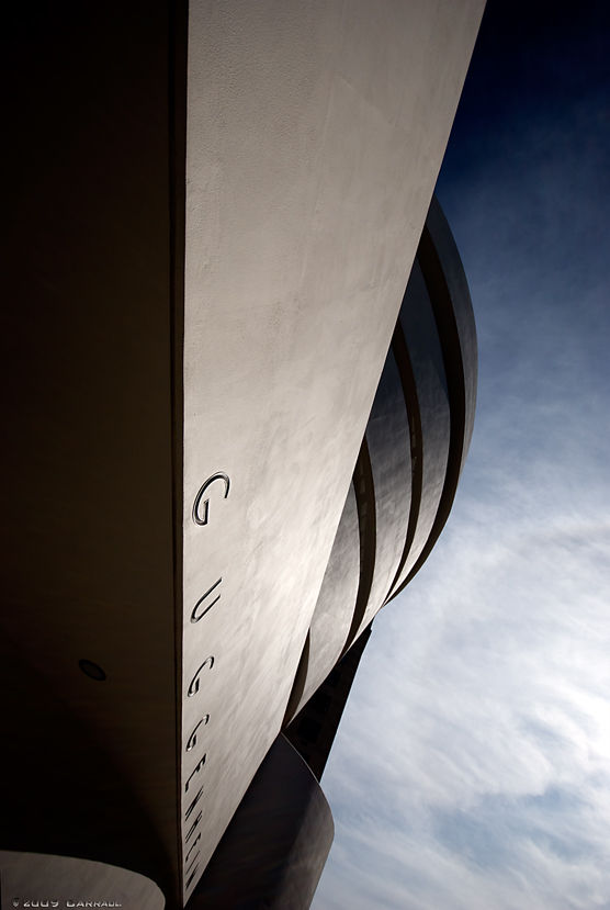 The Guggenheim Museum in NYC