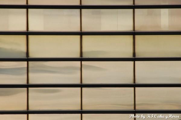 reflection windows pattern
