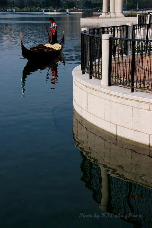 Macau Venetian Gondola