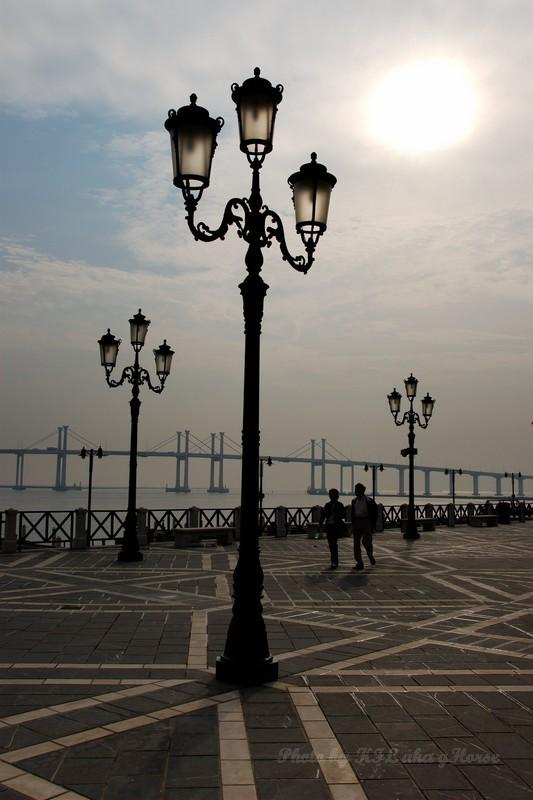 Macau Fisherman Wharf Lamp Post