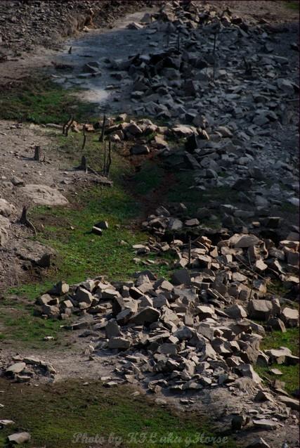 Riverbed stone sun Shekmun