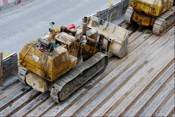Taikoktsui Construction Bulldozer Yellow