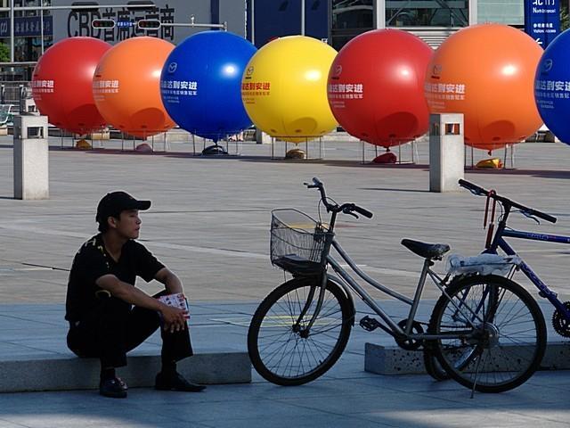 Carshow2007 Bicycle Balloon