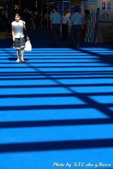 Carshow2007 Blue Sunny Floor