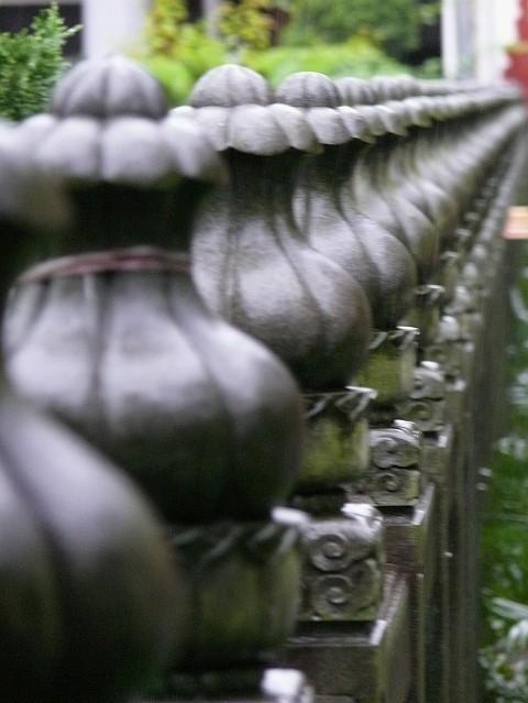 Danxia Pillars Rain