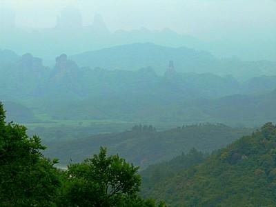 Danxia Mountain Moody