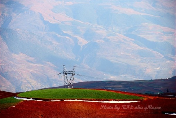 dongchuanredland redland green red land power towe