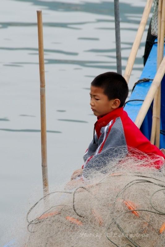 Sanmei Fisherman Child