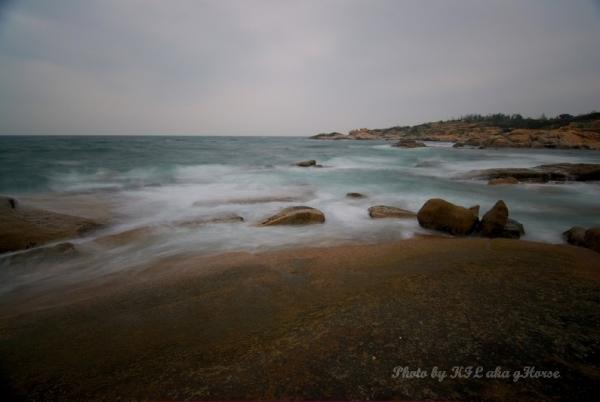 Sanmei Rock Beach Waves