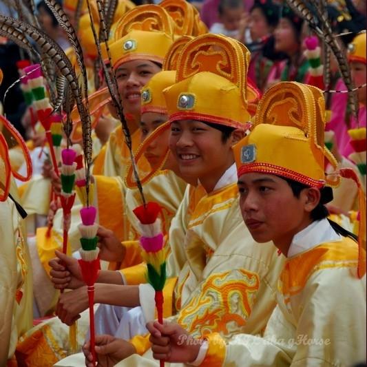 Sanmei Festival Costume