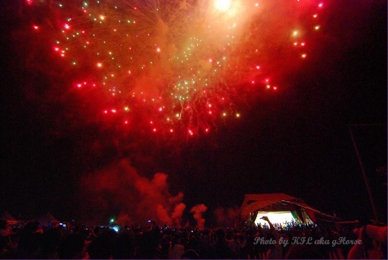 Sanmei Festival Firework