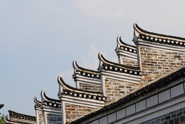 xiaodongjiang village house roof