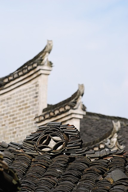 xiaodongjiang village house roof