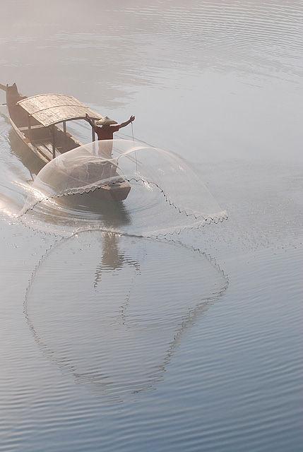 river net misty casting xiaodongjiang