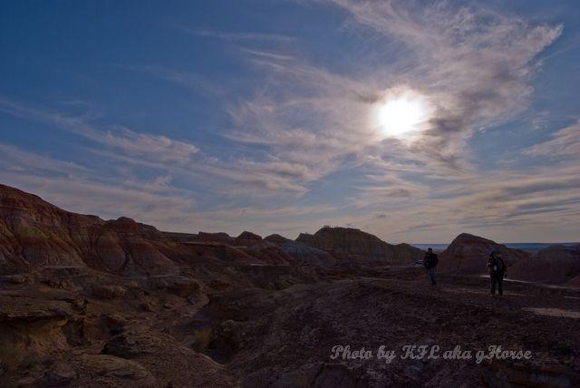 blue, cloud, sky, sun, Wu Cai Cheng, Xin Jiang