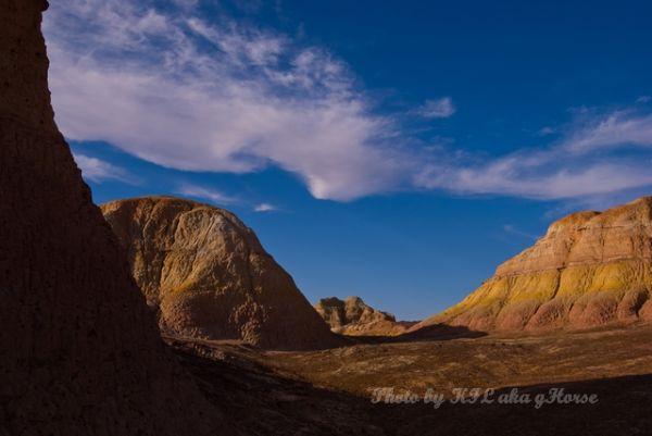 blue, cloud, Shadow, sky, Wu Cai Cheng, Xin Jiang