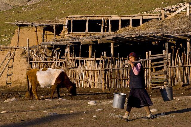 Da Dong Gou, house, living, Shepherd, Xin Jiang