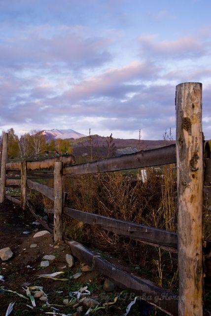 cloud, fence, sky, Xin Jiang