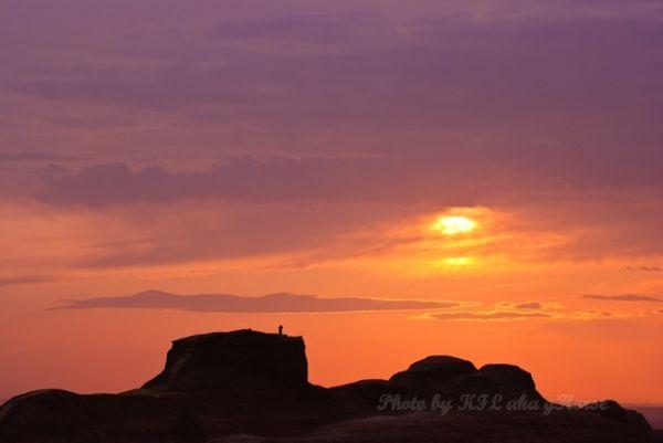 新疆, Xin Jiang, ghost town, sun set
