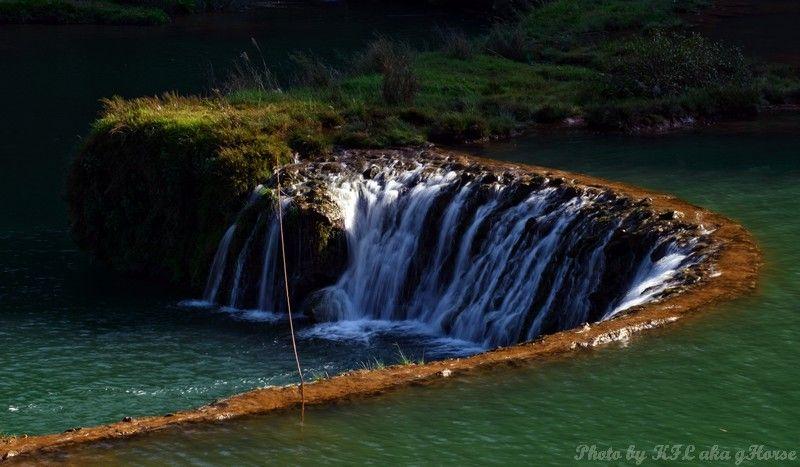 云南, 罗平, Yun Nam, Lou Ping, waterfalls, water