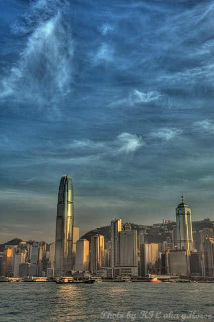 West Kowloon, Hong Kong, 香港, 西九龙, sunset, 日落, hdr,