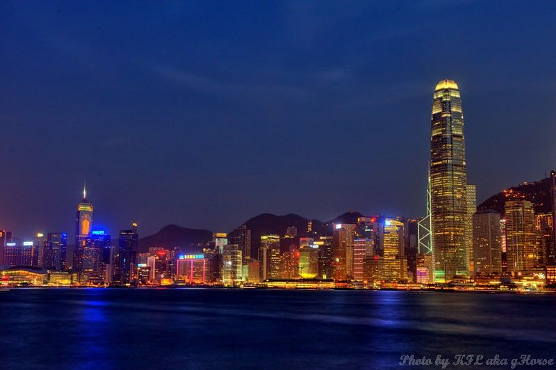 West Kowloon, Hong Kong, 香港, 西九龙, night scene, 夜景,
