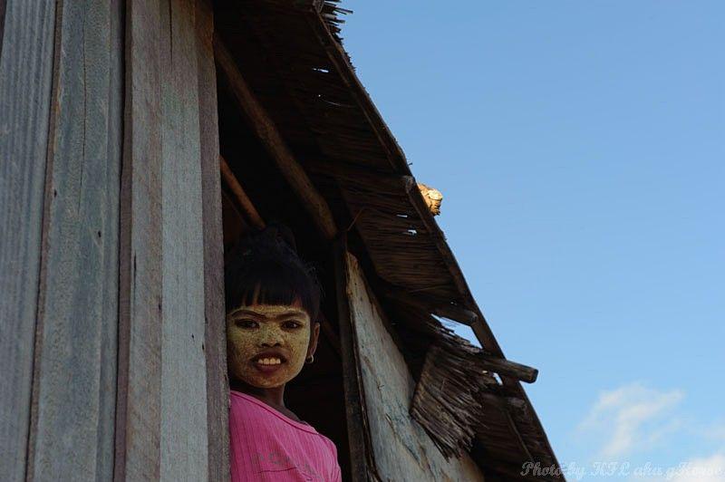 Semporna, Malaysia, blue, sky, wood, house, child