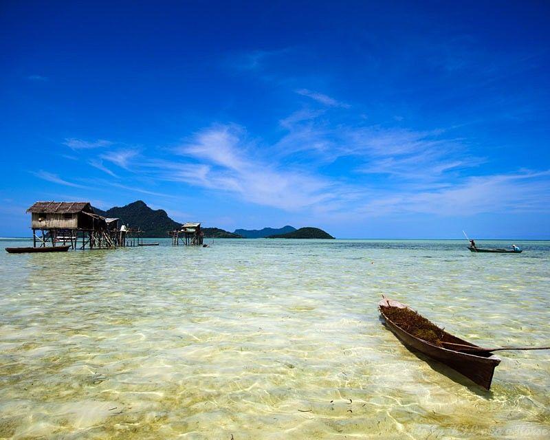 Maiga, Semporna, Malaysia, sea, blue, sky, cloud,