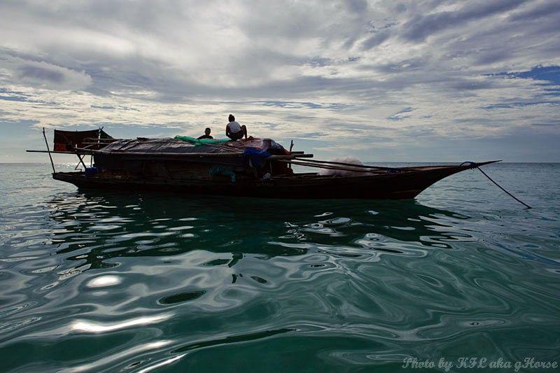 Semporna, Malaysia, blue, sky, cloud, sea, boat