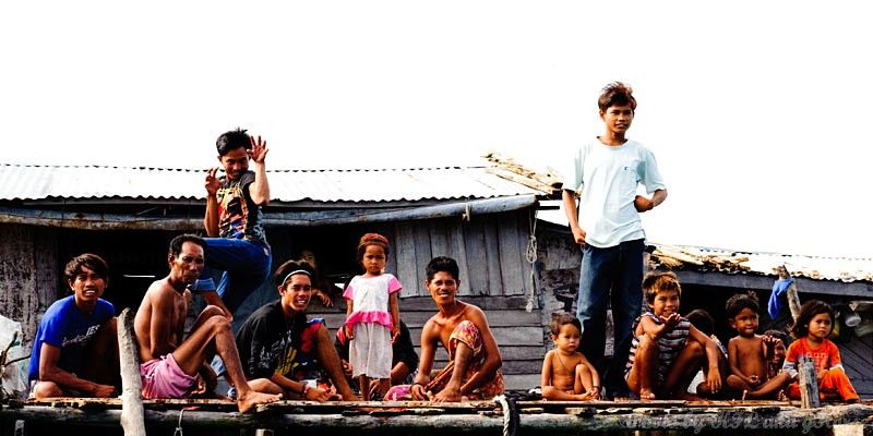 Semporna, Malaysia, people, house