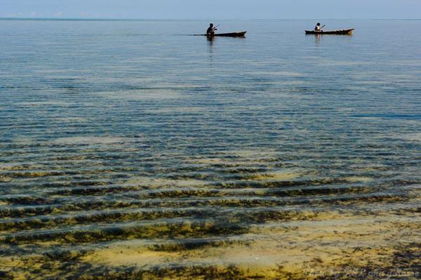 Semporna, Malaysia, sea, boat, island