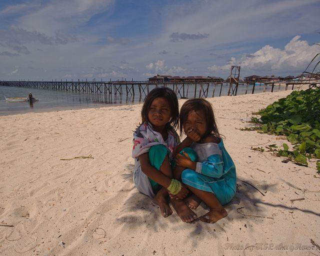 Malaysia, Semporna, blue, sky, cloud, sea, beach,