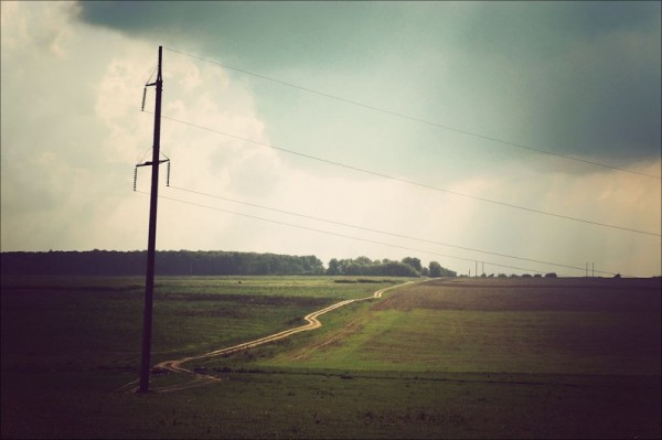 Field Before The Storm