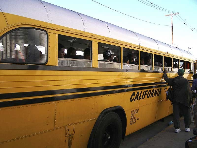 The Skid Row Bus to Americana