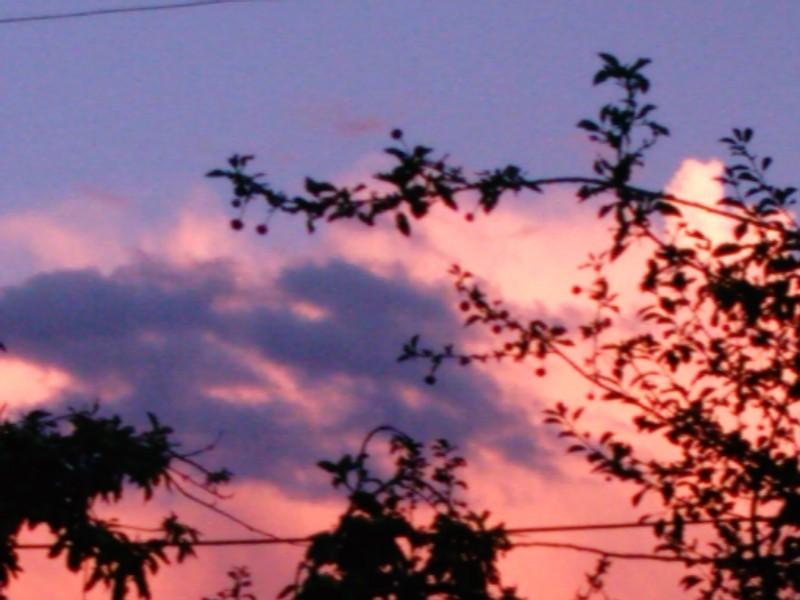 sky is burning.......!!!