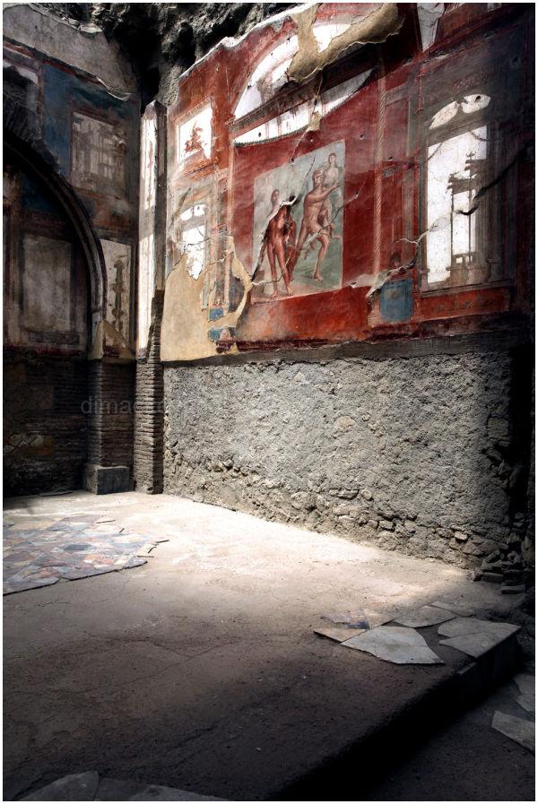Herculaneum, after Vesuvius, Naples