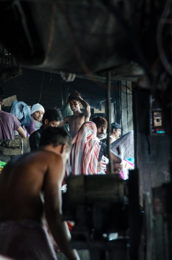 Dhobi Ghat workers