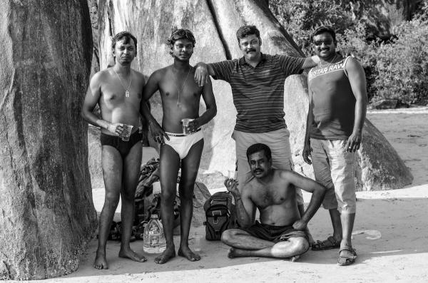 Stylish indian men