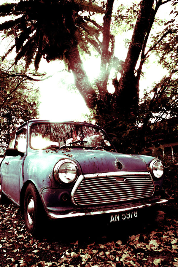 Mini Cooper Classic, Lomography Editing Style