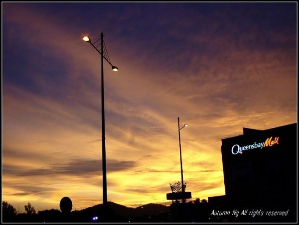 Queen's Bay Sunset