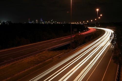 Eastern Freeway Melbourne Victoria Australia