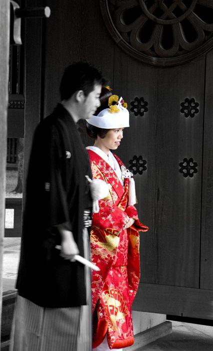 Japan Kimono Meiji Shrine