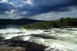 Storforse Rapids in Sweden